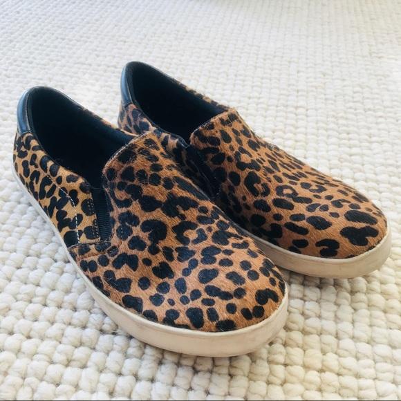 Dr Scholls Leopard Scout Slip